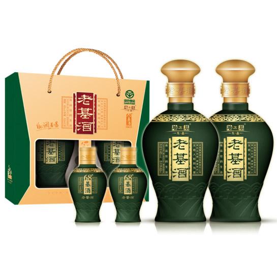 地之基 生态版 48度450ml+68度50ml单盒4瓶装(大瓶2瓶+小瓶2瓶)