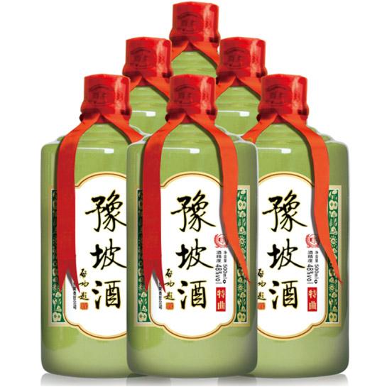 【简豫坡】特曲 48度500ml  纯粮食酒 6瓶整箱装